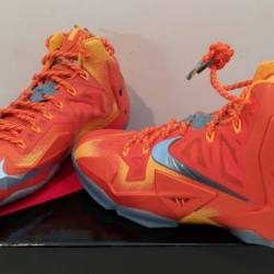 "Nike lebron 11 xi preheat ""for..."