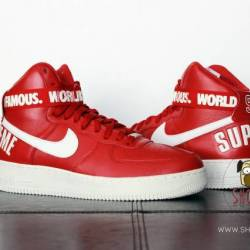 2014 nike air force 1 high red...