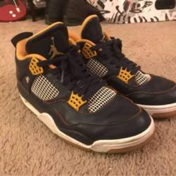 Air jordan 4 - dunk from above