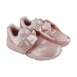 Puma pink bow womens pink text...