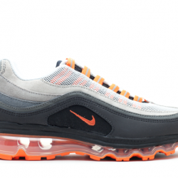 Nike air max 24-7 grey/orange ...