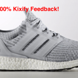 Adidas ultra boost clear grey 3.0
