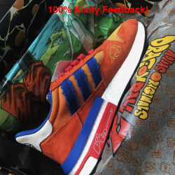 Dragon ball z x adidas zx 500 ...