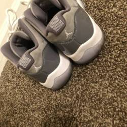 Cool grey low 11s