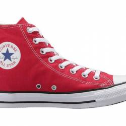 Converse high top all star red