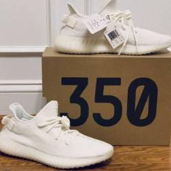 Yeezy boost 350 v2 'cream wh...