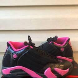 Black desert pink 14s