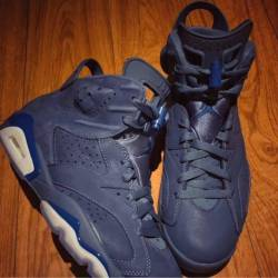 Air jordan 6 diffused blue