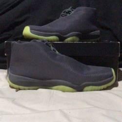 Jordan future - dark grey / volt