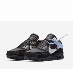 Off-white x nike air max 90 bl...