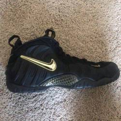 Nike air foamposite pro black ...