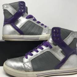 Supra skytop 1 purple/silver. ...