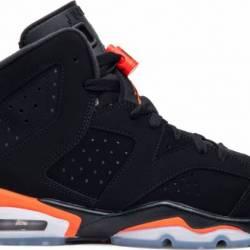 sports shoes 4a042 60930  200.00 Air jordan 6 black infrared og.