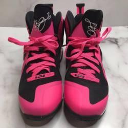 Lebron 9 gs laser pink