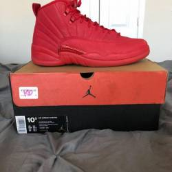 Air jordan 12 bulls (gym red)