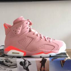Nike air jordan 6 retro rust p...