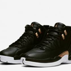Air jordan 12 wmns black repti...