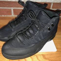 Air jordan 12 winterized black