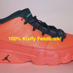 Air jordan 9 low - infrared