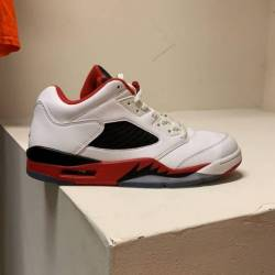 Jordan 5 low fire red