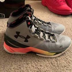 Under armour curry two - iron ...