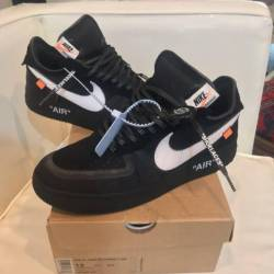 Off white x nike air force 1 b...