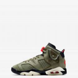 Air jordan 6 retro x travis sc...