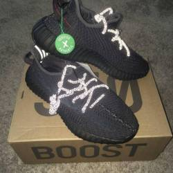 Yeezy boost 350 v2 black (non ...