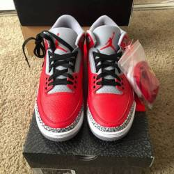 Air jordan 3 fire red cement
