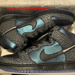 Black sheep x nike sb dunk hig...
