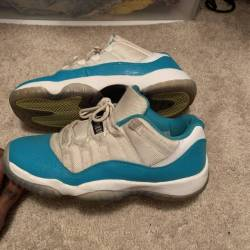 Air jordan 11 low gs - aqua