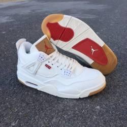 Jordan 4 retro levi's white ...