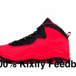 Air Jordan 10 Gs - Fusion Red
