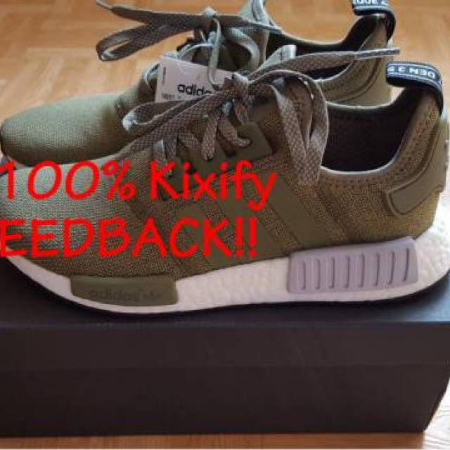 competitive price 7312f 5a66d Adidas Nmd R1 Olive Footlocker Europe Exclusive