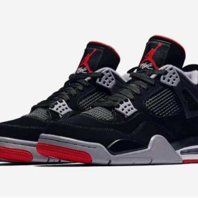 Nike Air Jordan 4 Retro OG Bred GS