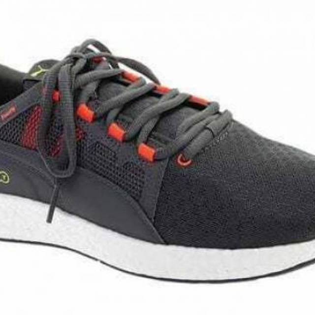 Men's Puma Nrgy Neko Turbo Sneaker Castlerock/nrgy Red