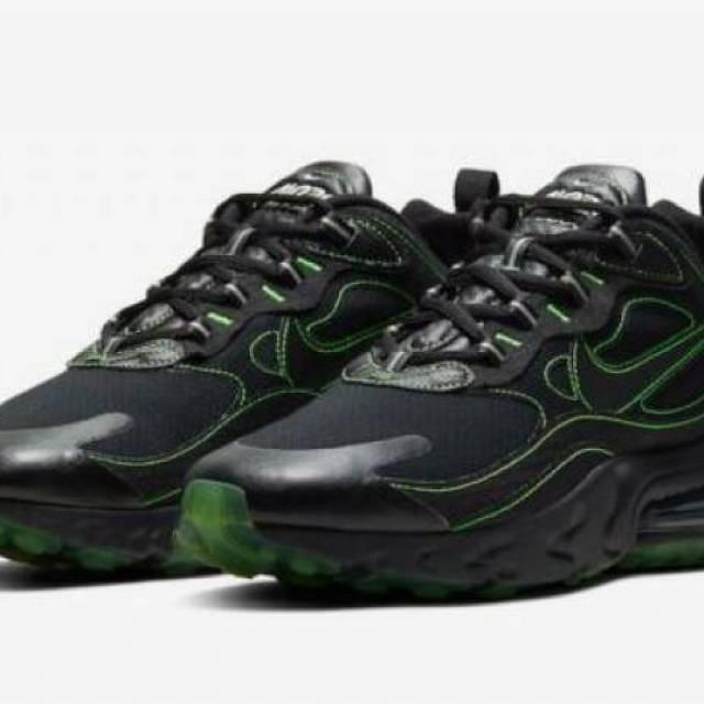 air max 270 black and green