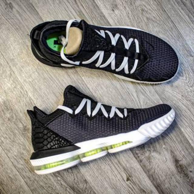 Nike Lebron 16 Low Black Volt Glow