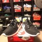 Nike Roshe Run Black with dots sz 9.5 Brand New!