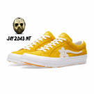 CONVERSE X TYLER THE CREATOR GOLF LE FLEUR ONE STAR YELLOW