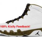 Air Jordan 9 The Spirit Bronze Green Olive