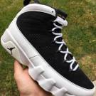 Nike Air Jordan Retro 9 IX WHITE BLACK GOLD 302370-021 men's size 8-14