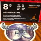 Air Jordan Retro XXXI Banned READY TO SHIP
