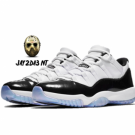 NIKE AIR JORDAN XI (11) LOW IRIDESCENT / EASTER (528895-145)