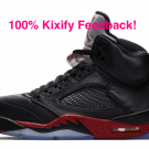 Air Jordan 5 Satin Bred