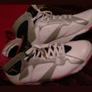 Nike Air Jordan 7 Retro 304775-123 White Men's Size 14 Olymp