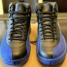 "Air Jordan Retro 12 ""black game royal"""